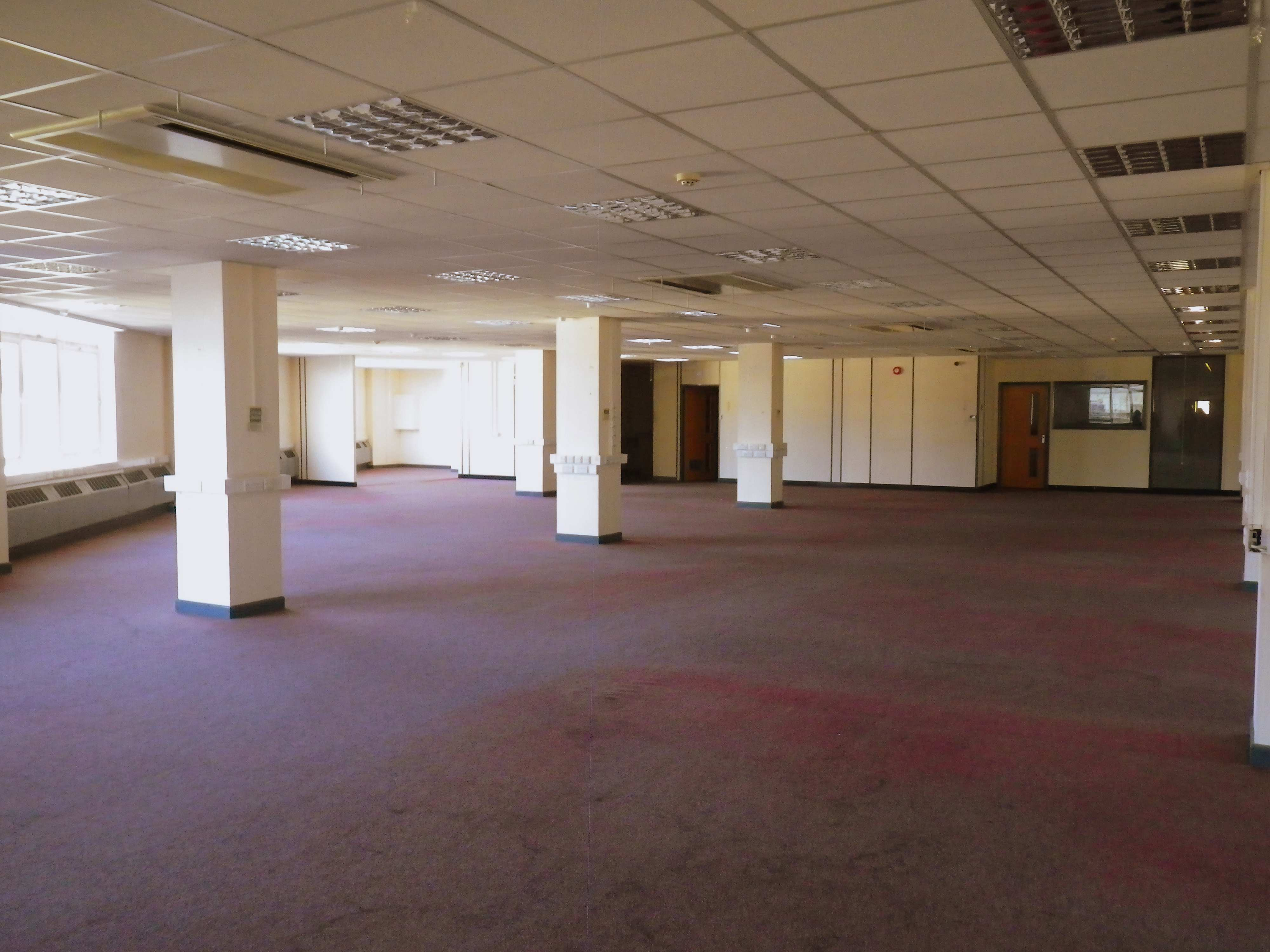 Plenty of space on the first floor of Roebuck House